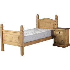 Corona High Foot End Bed Frame