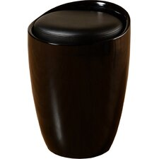 Wizard Storage Stool in Black / Black