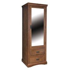 Paris 1 Mirrored Door with 2 Drawer Wardrobe