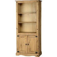 <strong>Home Essence</strong> Corona 2 Door Display Unit / Bookcase