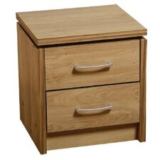 Charles 2 Drawer Bedside Table