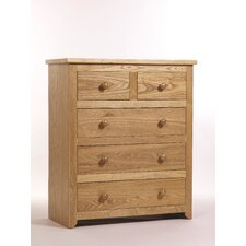Hamilton 2 Over 3 Drawer Chest