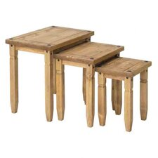 Newburgh 3 Piece Nest of Tables in Pine