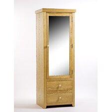 Hamilton 1 Mirrored Door with 2 Drawer Wardrobe