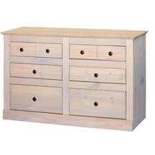 Pembroke 3 Over 3 Drawer Wide Chest