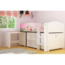 Princess Study Bunk Bed