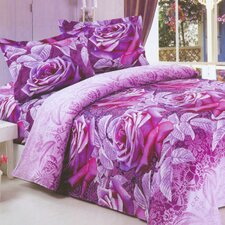 Art 6 Piece Full / Queen Duvet Cover Set