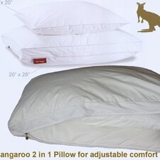 Kangaroo 2 in 1 Adjustable Pillow