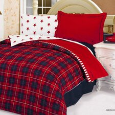 American Dream 4 Piece Duvet Covet Set