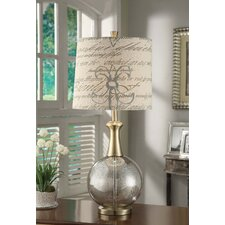 """The Hamptons 32.5"""" H Table Lamp with Empire Shade"""