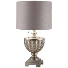 """Transitions Millineum 28"""" H Table Lamp with Drum Shade"""