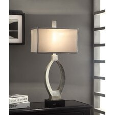 """Manhattan Camden 31.5"""" H Table Lamp with Rectangle Shade"""