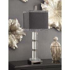 "Summit Beguiled 32"" H Table Lamp with Square Shade"