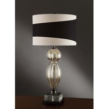 """Manhattan Maiden 33"""" H Table Lamp with Drum Shade"""