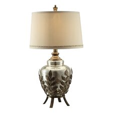 """Traditions Serendipity 30"""" H Table Lamp with Empire Shade"""