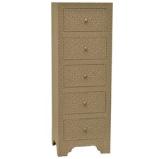 Springfield Nailhead Tall Chest