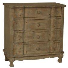 Windsor 4 Drawer Driftwood Chest
