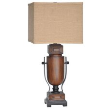 """Wine Country Briston 30.5"""" H Table Lamp with Rectangle Shade"""