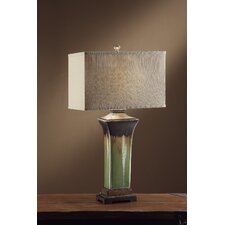 "Evonne 33.5"" H Table Lamp with Rectangular Shade"