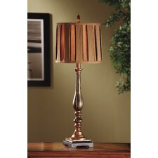 """Briston Buffet 34"""" H Table Lamp with Drum Shade"""