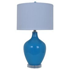 "Avery 27"" H Table Lamp with Drum Shade"