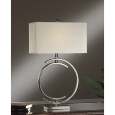 "Knox 1 Light 31"" H Table Lamp with Rectangular Shade"