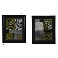 Playing with Patterns 2 Piece Painting Print Set (Set of 2)