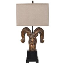 <strong>Crestview Collection</strong> Mountain 1 Light Table Lamp