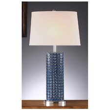 """Maura 1 Light 32"""" H Table Lamp with Empire Shade"""