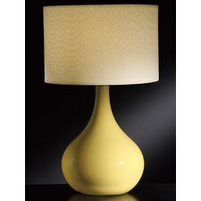 "Cabot 34.75"" H Table Lamp with Drum Shade"