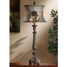 "Layonne 37.5"" H Table Lamp with Bell Shade"