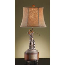 """Fore 28"""" H Table Lamp with Bell Shade"""
