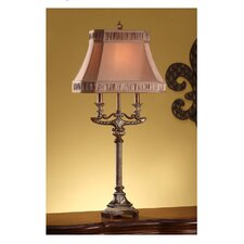 "Chesley 36.25"" H Table Lamp with Square Shade"