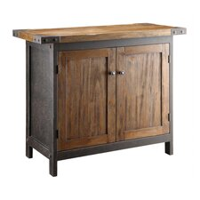 Wood Bridge Console Table