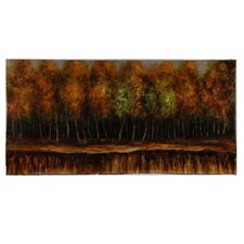 Galle's Forest Original Painting on Canvas