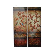 Stanwood 2 Piece Original Painting on Canvas Set (Set of 2)