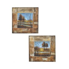 Ogden 2 Piece Original Painting on Canvas Set (Set of 2)