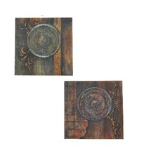Lionidas Wall Art (Set of 2)