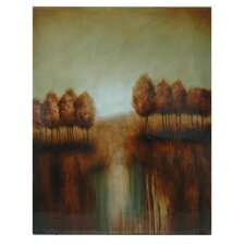 Landscape Stretched Painting Print on Canvas