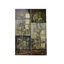 Rustica 2 Peice Painting Print on Canvas Set (Set of 2)
