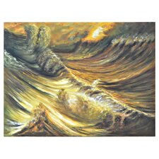 Tumultuous Painting Print on Canvas