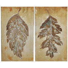 Derasi 2 Peice Painting Print on Canvas Set (Set of 2)
