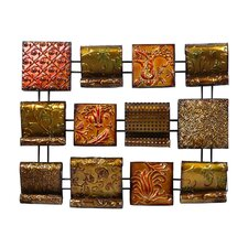 "<strong>Crestview Collection</strong> ""Array of Autumn Colors"" 12-Panel Wall Décor"
