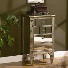 <strong>Crestview Collection</strong> Lustre 4 Drawer Chest