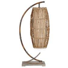 "Baja Downbridge 30"" H Table Lamp with Drum Shade"