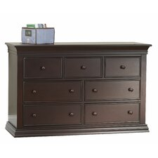 Verona 7 Drawer Double Dresser