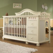 Cape Cod Convertible Crib and Changer Combo