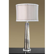"""Mayfair 35"""" H Table Lamp with Drum Shade"""
