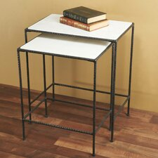 Newton 2 Piece Nesting Tables