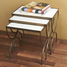 Wellsely 3 Piece Nesting Tables